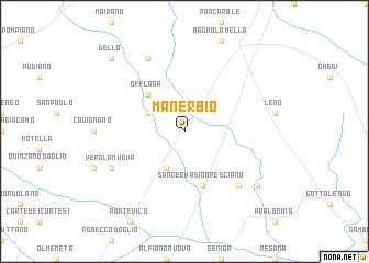 map of Manerbio