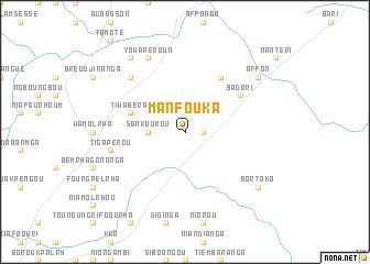 map of Manfouka