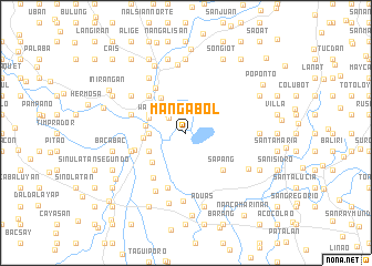 map of Mangabol