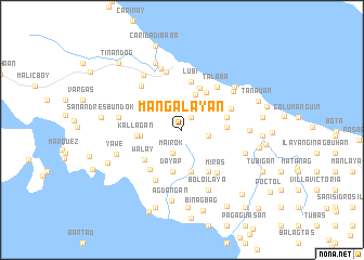 map of Mangalayan