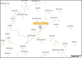 map of Mangamba