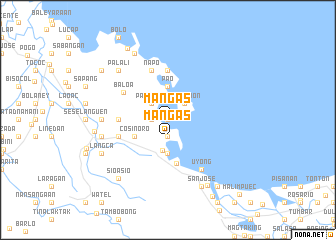 map of Mangas