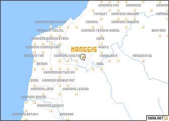 map of Manggis