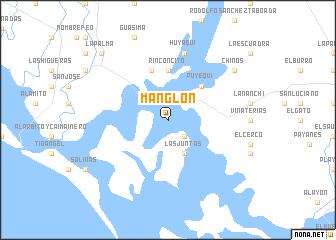map of Manglón