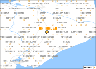 map of Manhagen