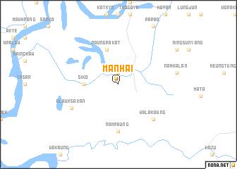 map of Mān Hai