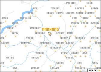 map of Mān Hang