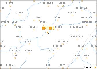 map of Mān Hio