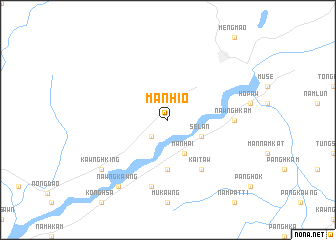 map of Mān Hio