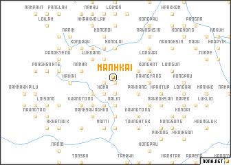 map of Mānhkai