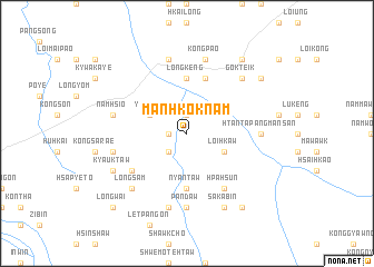 map of Mān Hkoknam