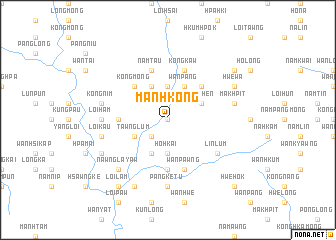 map of Mān Hkong
