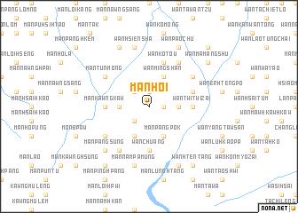 map of Mān Hoi