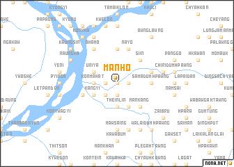 map of Mān Ho