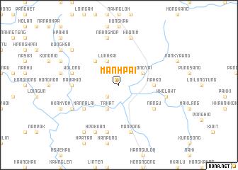 map of Mān Hpai