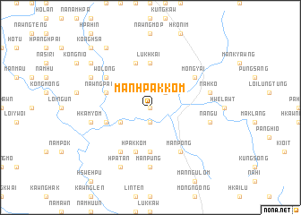 map of Mān Hpakkom