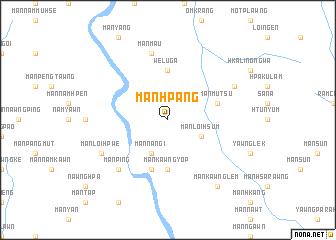 map of Mān Hpāng