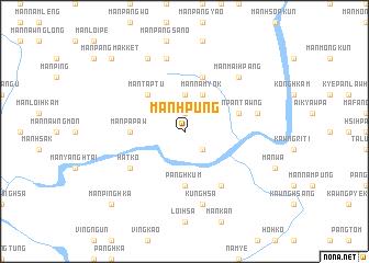 map of Mān Hpüng
