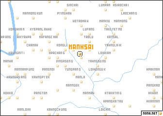 map of Mān Hsai