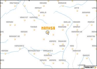 map of Mān Hsa