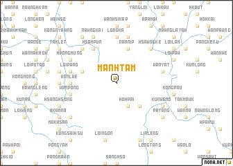 map of Mān Htam