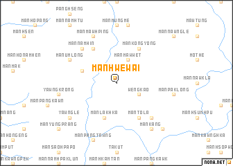 map of Mān Hwe-wai