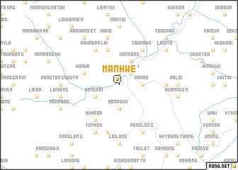 map of Manhwe