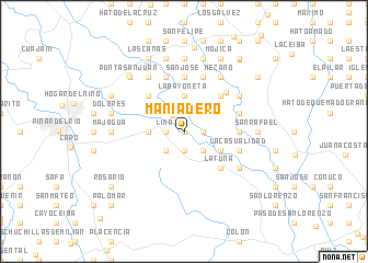 map of Maniadero