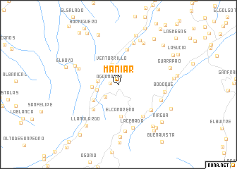map of Maniar
