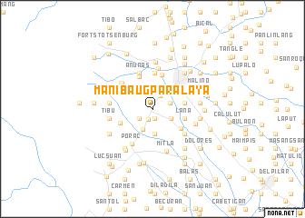 Manibaug Paralaya Philippines Map Nonanet - Porac map
