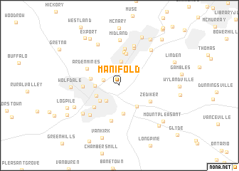 map of Manifold