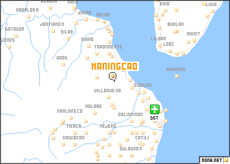 map of Maningcao