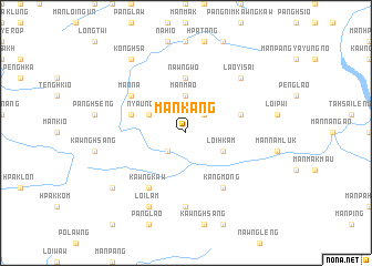 map of Mān Kang