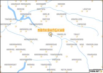 map of Mān Kawngkwa