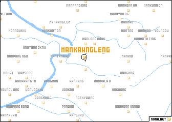 map of Mān Kawngleng