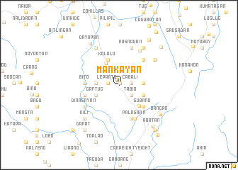 map of Mankayan