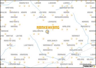 map of Mān Ke-hkang