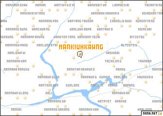 map of Mān Kiu-hkawng