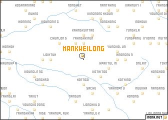 map of Mankwei-long