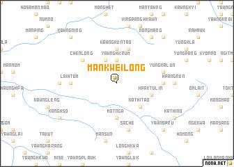 map of Mankwei-long