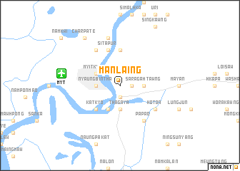 map of Man Laing