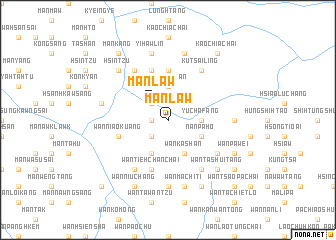 map of Mān Law
