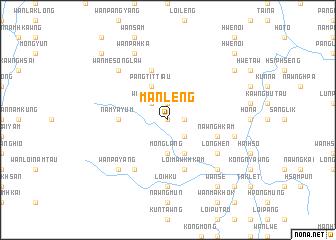 map of Mān Leng