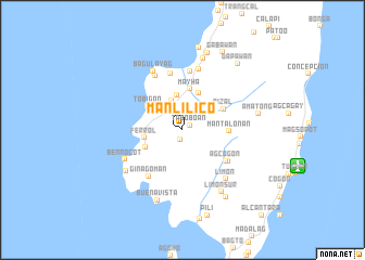 map of Manlilico
