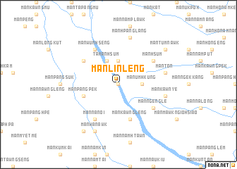 map of Mān Linlēng