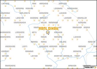 map of Mān Loi-haw
