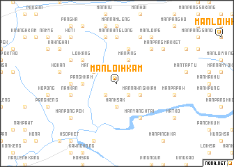 map of Mān Loi-hkam