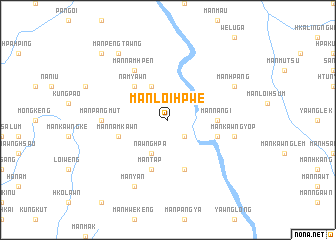 map of Mān Loi-hpwe