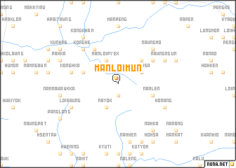 map of Mān-loi-mun