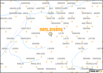 map of Mān Loi-sang
